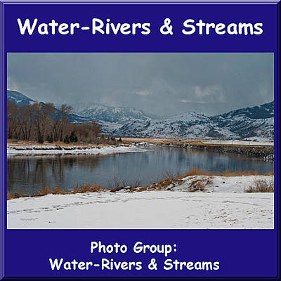 Photograph - Logo Water Rivers And Streams by NaturesPix