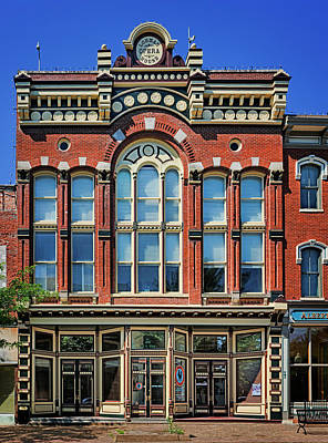 Photograph - Lohman Opera House - Jefferson City by Nikolyn McDonald