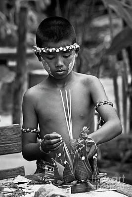 Photograph - Loi Krathong Festival - Thailand by Craig Lovell