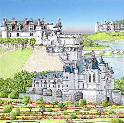 Painting - Loire Valley by Albert Puskaric