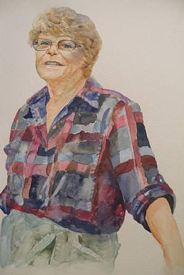 Lois Art Print by Wendy Hill