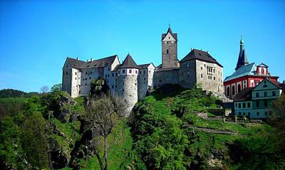 Loket Castle  Art Print by Juergen Weiss