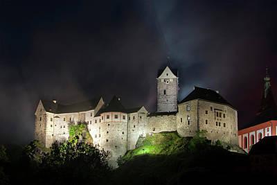 Loket Castle North West Bohemia Art Print by Pavel Kinst