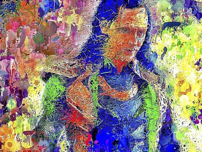 Mixed Media - Loki by Al Matra