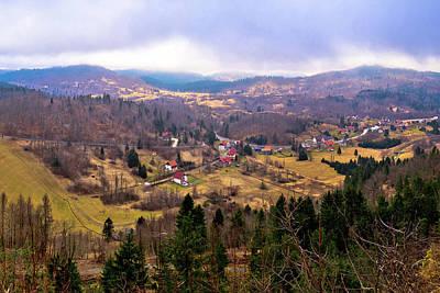 Lokve Valley In Gorski Kotar View Art Print