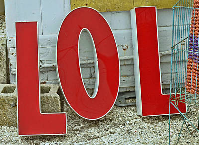 Photograph - LOL by Allen Beatty