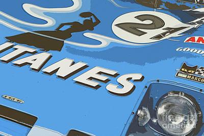 Digital Art - Lola-cosworth T282 Gitanes by Roger Lighterness