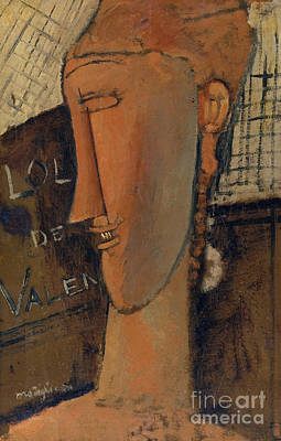 Painting - Lola De Valence, 1915 by Amedeo Modigliani
