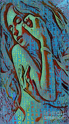 Digital Art - Lola Dreams by Rafael Salazar