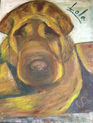 Painting - Lola In Memory by Carolyn Donnell