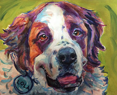 Painting - Lola by Judy Rogan