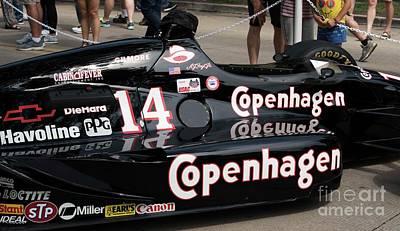 Indy Car Photograph - Lola Racing - 1 by David Bearden