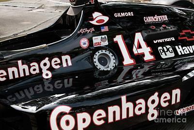Indy Car Photograph - Lola Racing - 3 by David Bearden