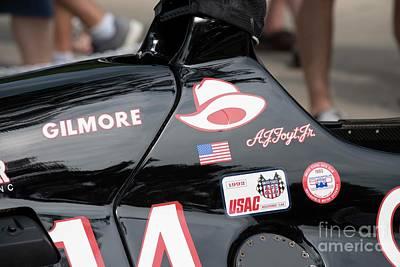 Indy Car Photograph - Lola Racing - 4 by David Bearden