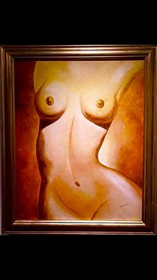 Painting - Lola by Thelma Delgado