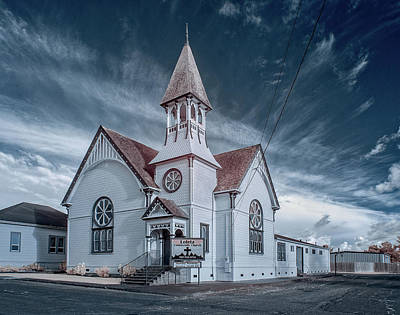 Photograph - Loleta Church by Greg Nyquist