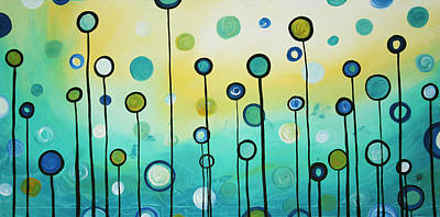 Lollipop Field By Madart Art Print by Megan Duncanson