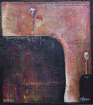 Painting - Lollipop Love No. 1 by Laurie Maves ART