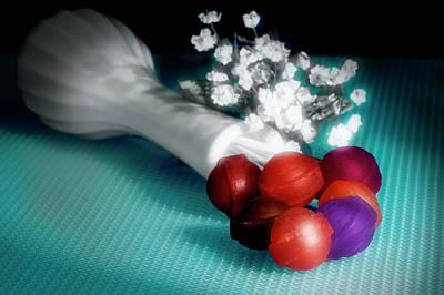 Concept Photograph - Lollipop Roses by Tom Mc Nemar