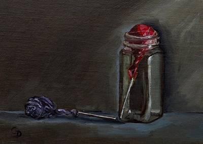 Painting - Lollipops by Grace Diehl