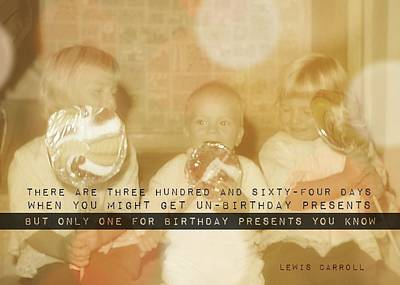 Lollipops Quote Art Print by JAMART Photography
