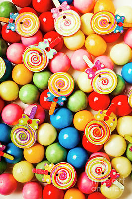 Confectionery Photograph - Lolly Shop Pops by Jorgo Photography - Wall Art Gallery