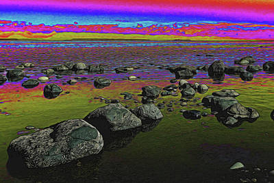 Digital Art - Lollypop Sky by Richard Farrington