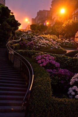 Photograph - Lombard Street by Robert Brusca