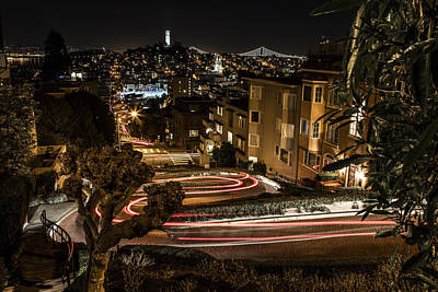 Photograph - Lombard Street Streaking  by John McGraw