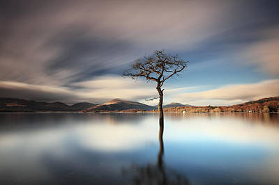 Photograph - Lomond Reflection by Grant Glendinning