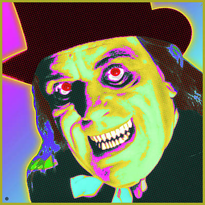 Painting - Lon Chaney Portrait by Gary Grayson