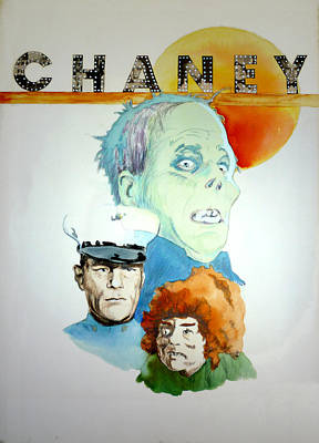 Hunchback Of Notre Dame Painting - Lon Chaney Sr by Bryan Bustard