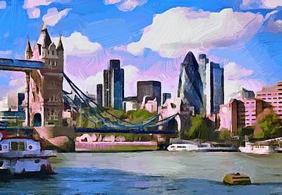 London 01 Art Print