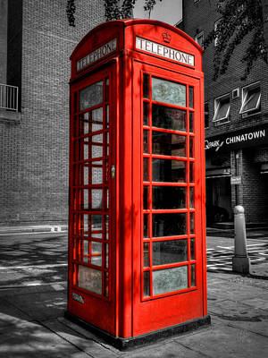 London 040 Art Print by Lance Vaughn