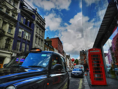 London Phone Booth Photograph - London 37 by Lance Vaughn