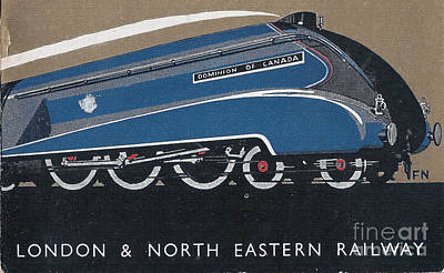 Digital Art - London And North Eastern Railway by R Muirhead Art