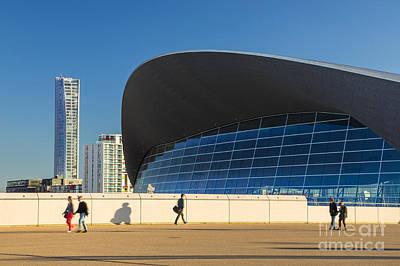 Stratford City Photograph - London Aquatics Centre 2 by Marcin Rogozinski