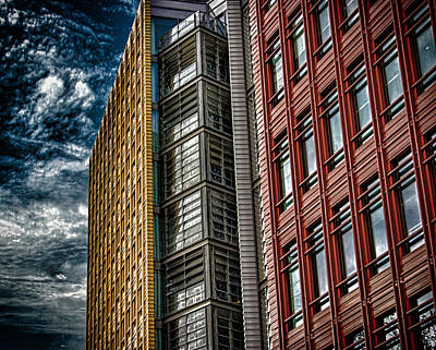 Hdr Landscape Photograph - London Architecture by Martin Newman