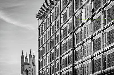 Photograph - London Architecture  by Roger Lighterness