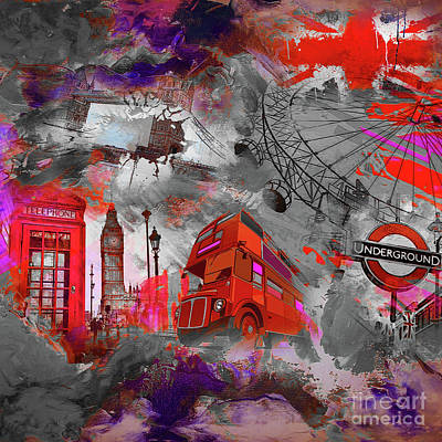 London Art 56 Original by Gull G