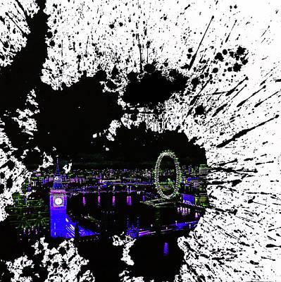 London Art Splash  Original by Gull G