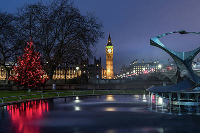 Photograph - London At Christmas 2 by Matt Malloy