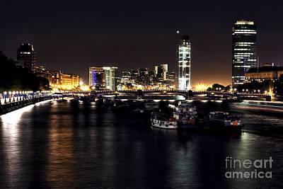Photograph - London At Night II by John Rizzuto