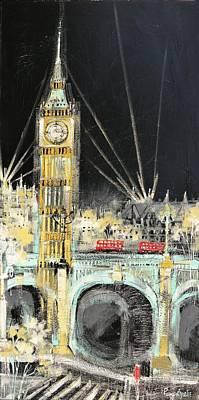 London At Night Original