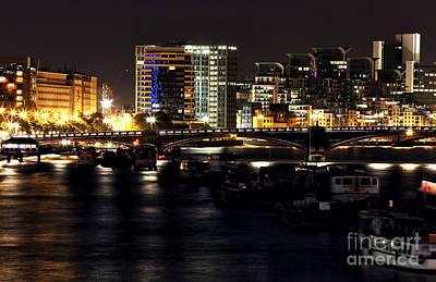 Photograph - London At Night Iv by John Rizzuto