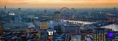 Photograph - London At Sunset by Stewart Marsden