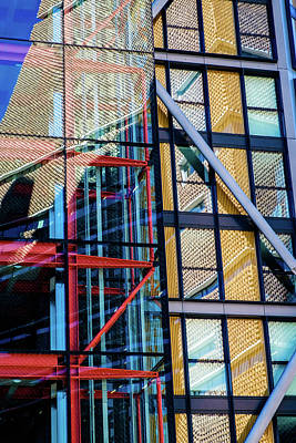 Photograph - London Bankside Architecture 1 by Judi Saunders