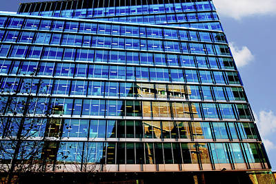 Photograph - London Bankside Architecture 2 by Judi Saunders