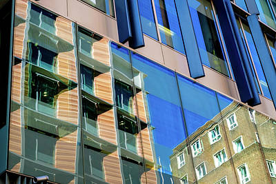 Photograph - London Bankside Architecture 3 by Judi Saunders