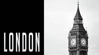 Photograph - London Big Ben by Edward Fielding